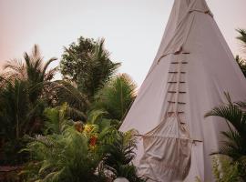 Wigwam, spa hotel in Mandrem