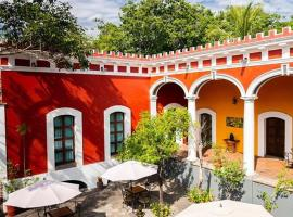 Hotel Boutique Hacienda del Gobernador, hotel in Colima