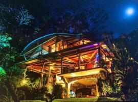 5 BR Luxury Home & Spa near Cocovado National Park, hotel en Puerto Jiménez
