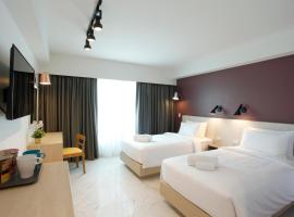 Port Canary Airport Hotel, hotel in zona Centro commerciale Mega Bangna, Lat Krabang