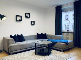 modern apartment with wifi, smart-tv and boxspringbed, pet-friendly hotel in Wuppertal