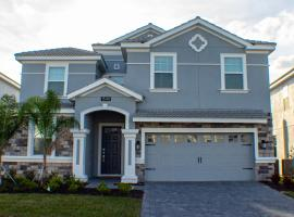 Champions Gate Resort 8 Bedroom Vacation Home with Pool 1872, villa in Davenport