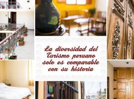 Hostal La Casona, budget hotel in Pisco