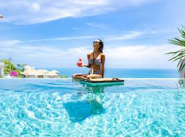 POOL VILLA COOEE I Sea Views - Pool - Privacy & Service, hotel i Chaweng Noi Beach