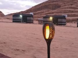 Bronze Mountains Camp Wadi Rum, accessible hotel in Aqaba