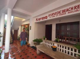 Karma Ayurvedic Beach Resort, hotel in Kovalam
