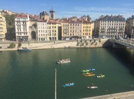 """La """"Pépite"""" Du Vieux Lyon, hôtel à Lyon près de: Fresque des Lyonnais"""