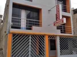 HOSPEDAJE LOS PAREDONES, hotel en Ica
