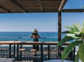Tal By The Beach - An Atlas Boutique Hotel, hotel near Sde Dov Airport - SDV, Tel Aviv