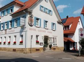 Hotel Anker Garni, Hotel in der Nähe von: Judengasse, Rottenburg