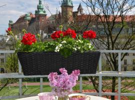 Castle View Boutique Apartment, hotel in zona Università Jagellonica, Cracovia