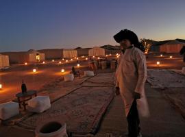 Camp desert sky, luxury tent in Mhamid