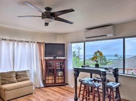 Coastal Townhome with View, Short Walk to Beach!, hotel in Koloa