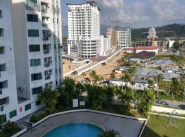 Likas Square #JC Stay # Kota Kinabalu City #Spacious, pet-friendly hotel in Kota Kinabalu