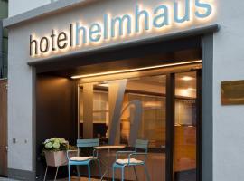 Helmhaus Swiss Quality Hotel, hotel en Zúrich