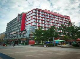 Thank Inn Chain Hotel jiangsu xuzhou tongshan district normal university, отель в городе Сюйчжоу