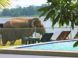 Pharo Lake, отель в Полоннаруве