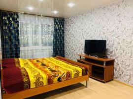 Apartment TwoPillows Lomonosova 3А, отель в Воркуте