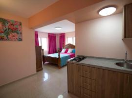 Omira Apartments Suites. Flamingo room, hotel em Willemstad