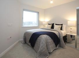 Foundry luxury new one bedroom apartments close to town center, apartment in Luton
