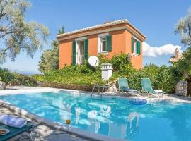 Katouna Villa Sleeps 5 with Pool Air Con and WiFi, hotel in Lygia