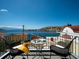 Villa Kalypso, hotell i Chalki