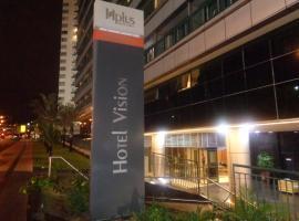 Hotel Vision Express, Setor Hoteleiro Norte, hotel near National Theatre Claudio Santoro, Brasilia