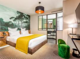 Hotel Bridget, hotel near Gambetta Metro Station, Paris