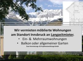 Wohnen in Innsbruck, Ferienwohnung in Innsbruck