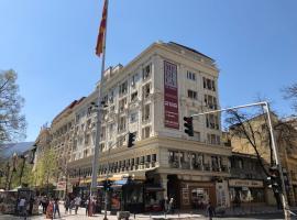 Center Apartments Skopje - Rooftop, apartment in Skopje
