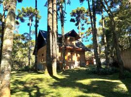 Bosque das Araucárias, self catering accommodation in Campos do Jordão