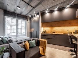 New Modern Designer Studios in the Heart of Old Town --Aircon--, apartment in Vilnius