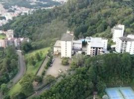 Apart Hotel - Lindo Solar, hotel perto de Teleférico, Serra Negra