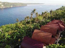Sakti Ocean View Bungalows, hotel near Gamat Bay, Nusa Penida