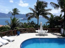 ENCANTOS DO MAR Casa com vista para mar no Siruiba, hotel near Ponta das Canas Lighthouse, Ilhabela