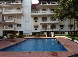 Sheperd Beach Villas & Apartments Colva, apartment in Colva