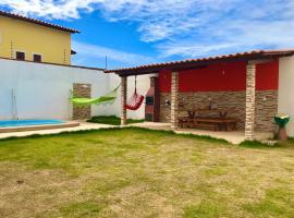 Casa de temporada no francês, holiday home in Maceió