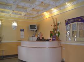 Отель Элиталь, отель в городе Россошь