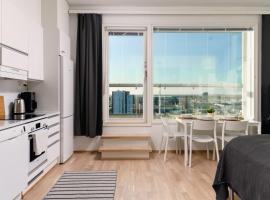 ULEABO Penthouse Studio with a Stunning View in Oulu!, hotel in Oulu