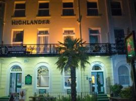 Highlander Hotel, hotel in Scarborough