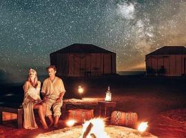 Luxury Sahara Bedouin camp, luxury tent in Mhamid
