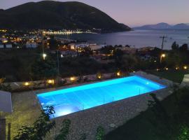Katerina Lefkada, hotel near Egremnoi Beach, Vasiliki