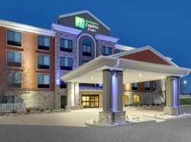 Holiday Inn Express & Suites Mitchell, hotel v destinaci Mitchell