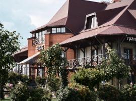 Шале, отель в городе Bol'shoye Kolpano