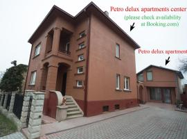 Petro delux apartments center, apartamentai mieste Kaunas