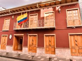 Casa Ruth Hotel Boutique, hotel em Cuenca