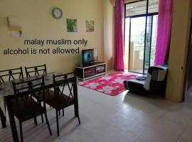 Homestay Desa Bistari Malay only 0192091970, apartment in Gelugor