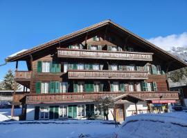 Hotel Garni Alpenruh, hotel in Lenk