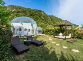 Bubble Hotel Bali Nyang Nyang, luxury tent in Jimbaran
