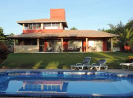 Casa Vermelha, accessible hotel in Japaratinga